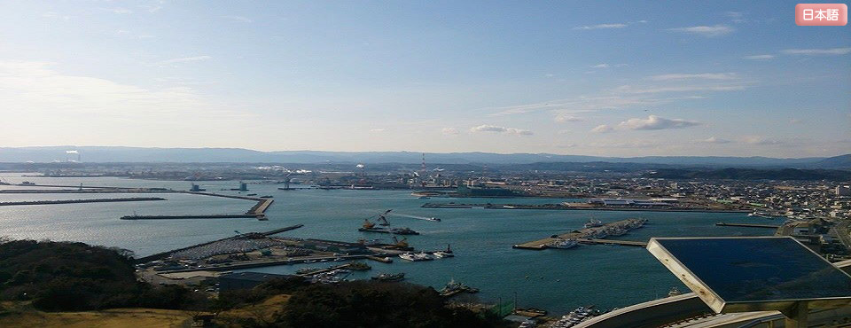 マリンタワーから見える小名浜漁港~The ONAHAMA fishing port seen from the Marine Tower ~